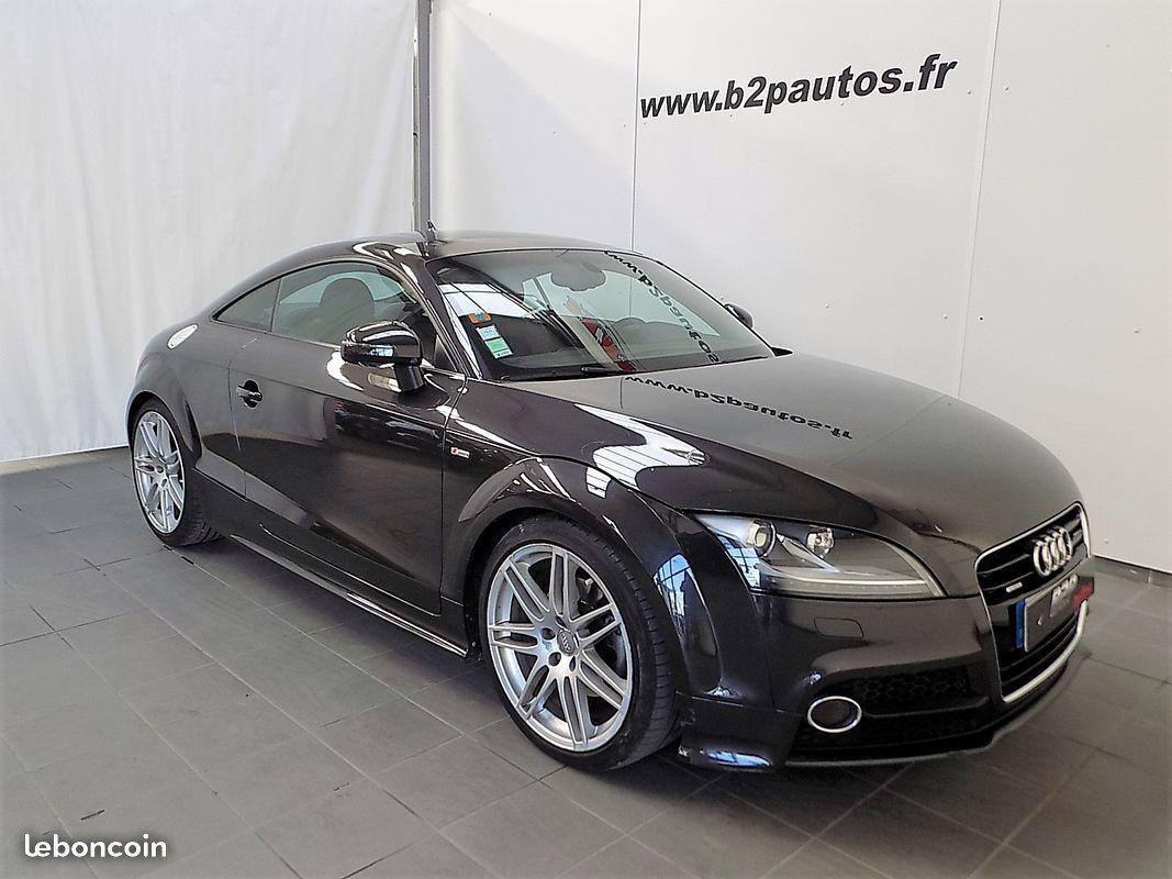 photo vehicule vendu - Audi tt 2.0 tdi 170 cv quattro bv6 s-line