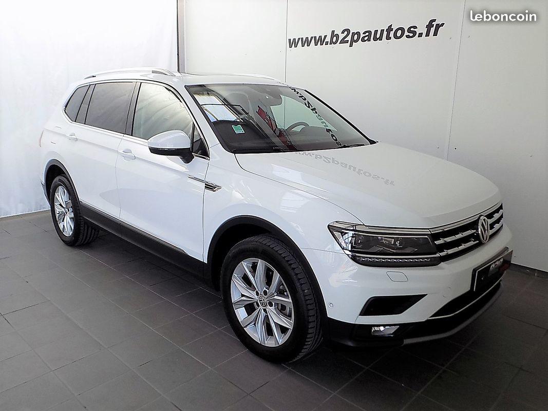 photo vehicule vendu - Volkswagen tiguan allspace carat 150 cv dsg 7p