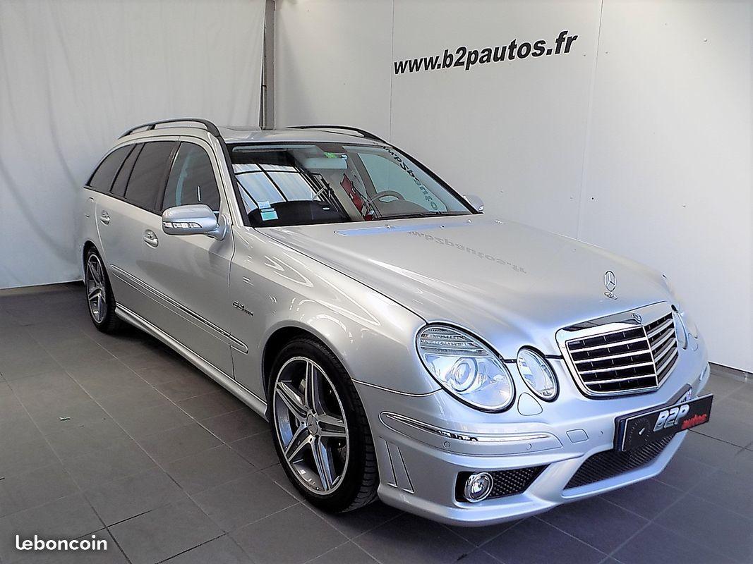 photo vehicule vendu - Mercedes classe e 63 amg 6.3 e63 v8 514 cv
