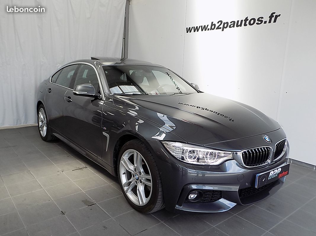 photo voiture bmw Bmw 420 d 190 cv grancoupe x-drive pack m