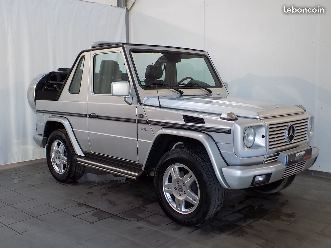 photo vehicule vendu - Mercedes classe g cabriolet v8