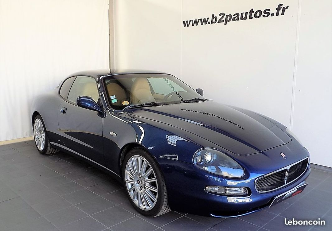 photo vehicule vendu - Maserati 4200 gt coupe bv6 4.2 l v8 390 cv