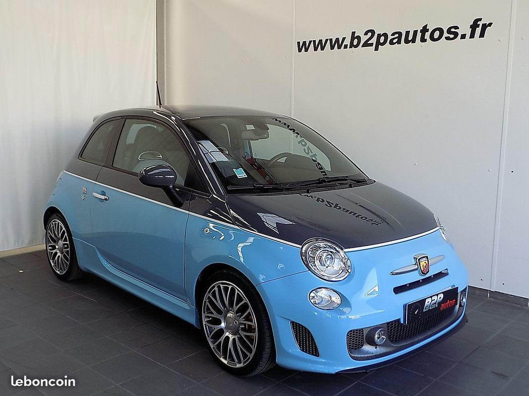 photo vehicule vendu - Fiat 500 abarth 595 1.4 160 cv bv6 echappement monza