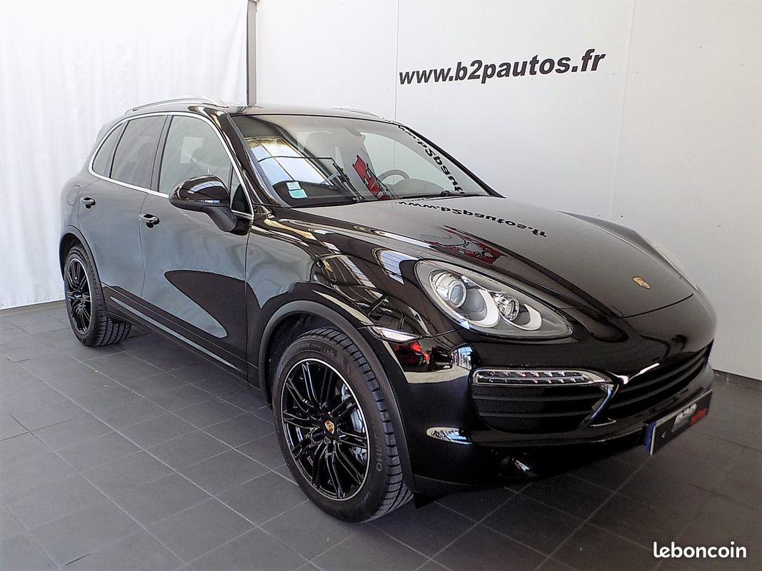 photo vehicule vendu - Porsche cayenne s v8 4.8l 400cv ethanol echappement sport