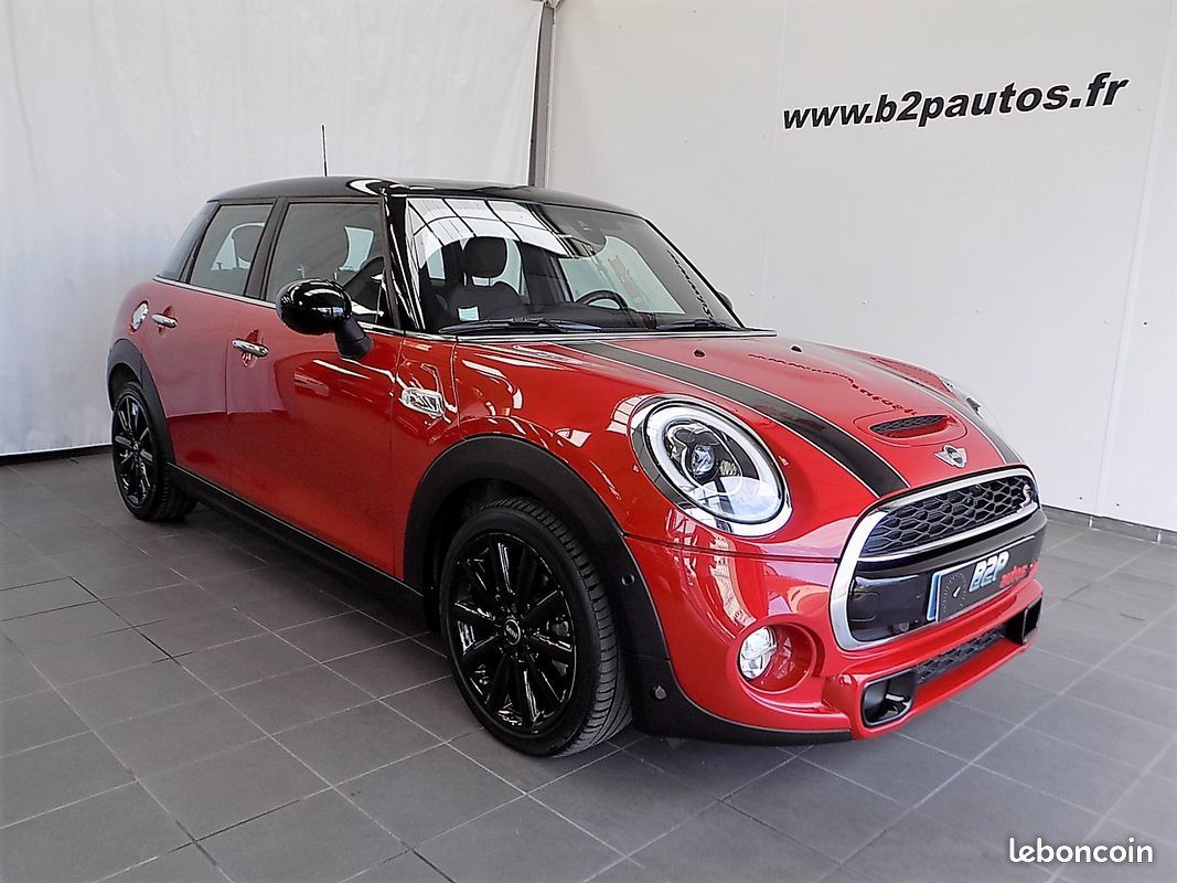 photo principale produit voiture MINI COOPER S 192 ch 5 PORTES PACK RED HOT CHILI