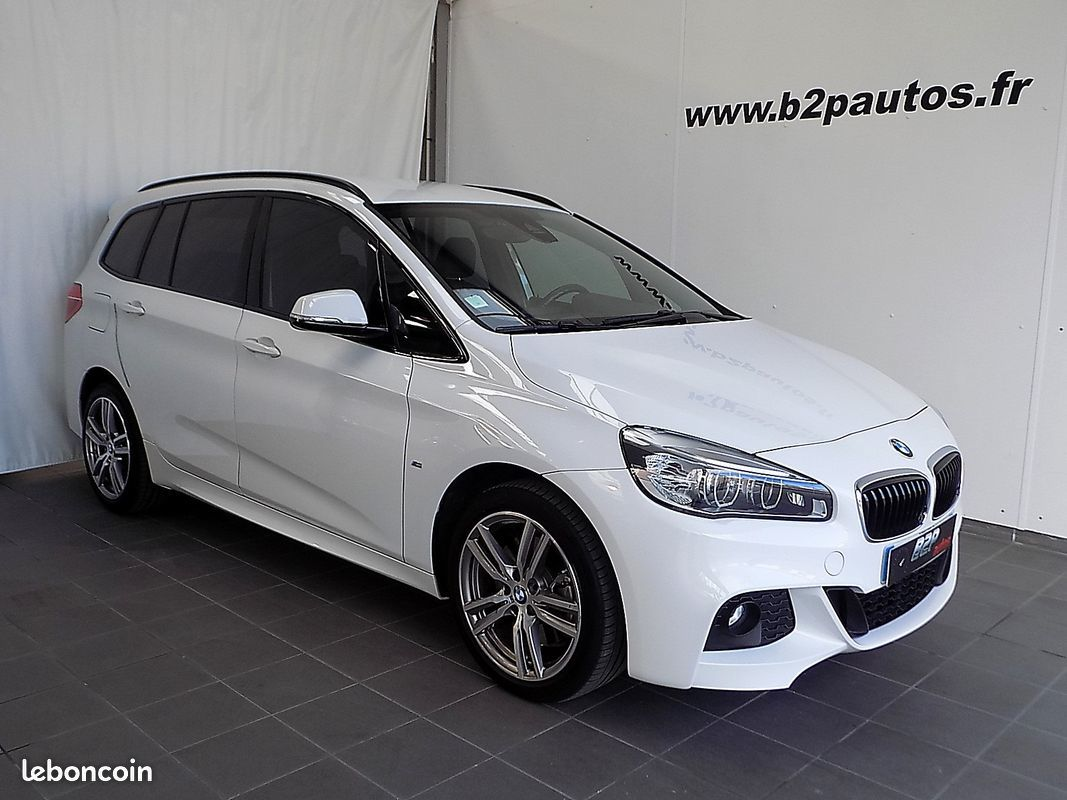 photo principale produit voiture Bmw serie 2 activetourer 220i 192 cv bv6 pack m 7 places