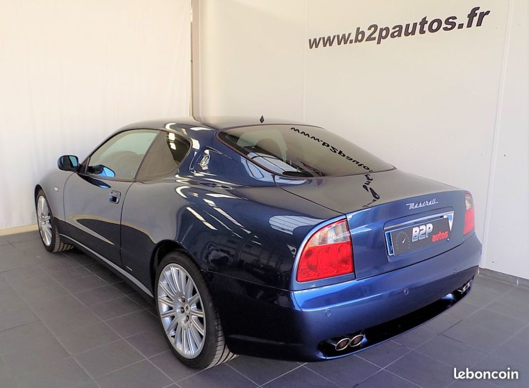 photo secondaire Maserati 4200 gt coupe bv6 4.2 l v8 390 cv maserati