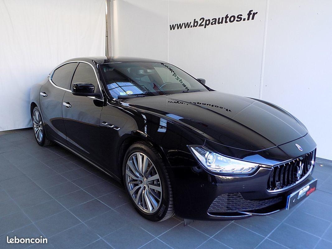 photo principale produit voiture Maserati ghibli 3.0 v6 275 cv