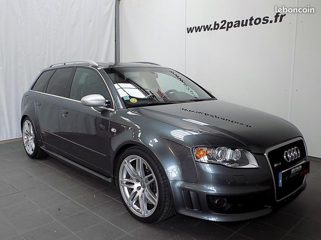 photo vehicule vendu - Audi rs4 avant v8 4.2 l 420 cv quattro bv6 65500kms