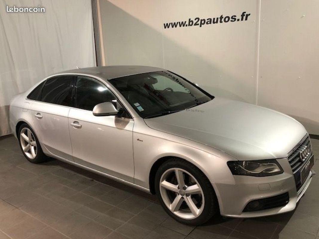 photo vehicule vendu - Audi a4 2.0 tdi bv6 140 ch s-line