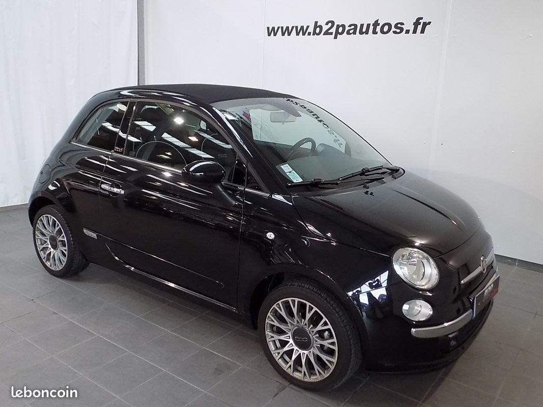 photo vehicule vendu - Fiat 500 c 1.2l 69 ch cabriolet