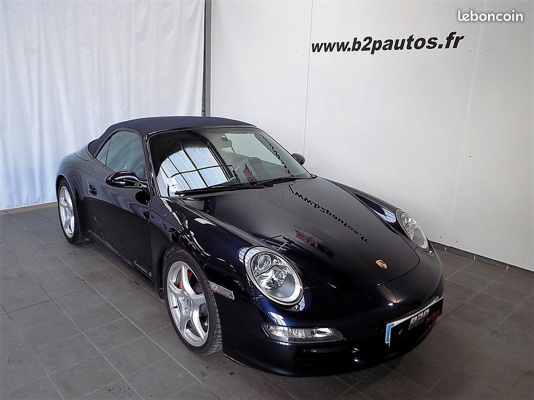 photo vehicule vendu - Porsche 911 997 3.8 l 355 cv cabriolet echappement sport