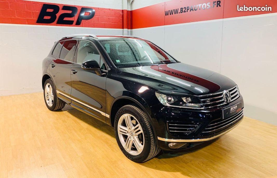 photo vehicule vendu - Volkswagen touareg 3.0 tdi 262 cv r-line