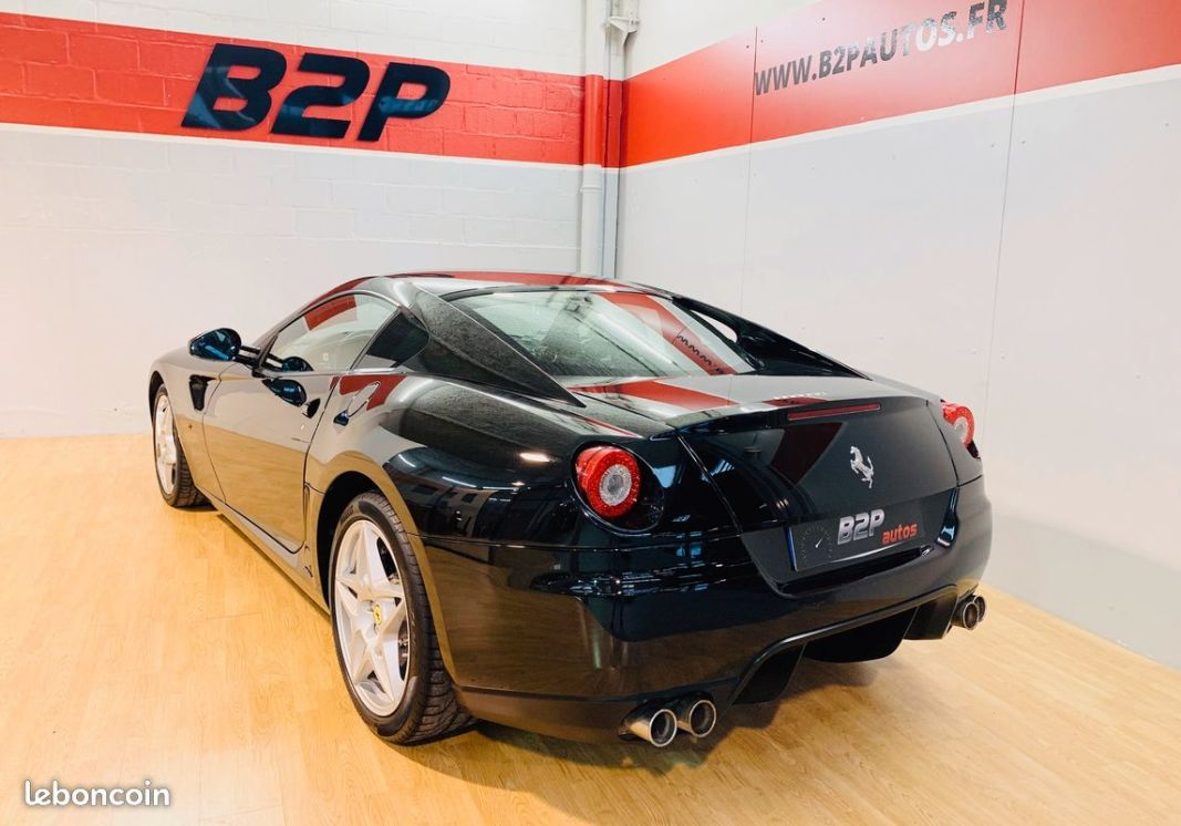 photo secondaire Ferrari 599 gtb 6.0 v12 620 cv f1 ferrari