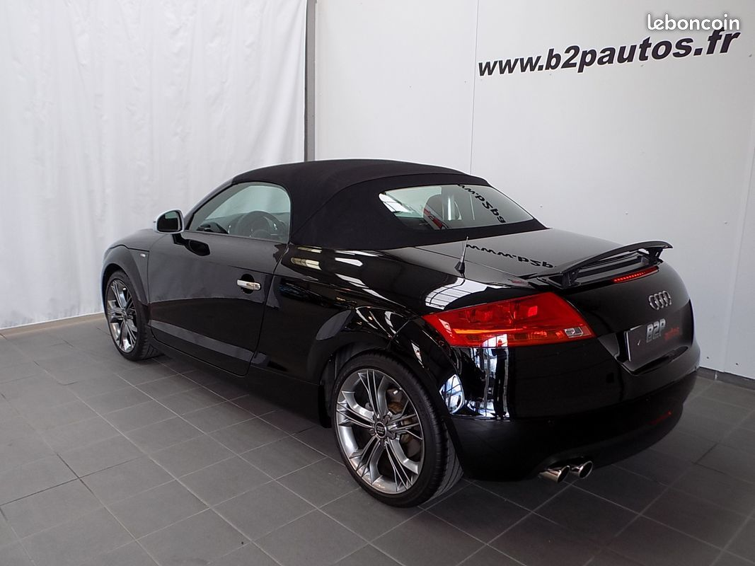 photo secondaire Audi tt 2.0 tfsi 200 ch cabriolet audi