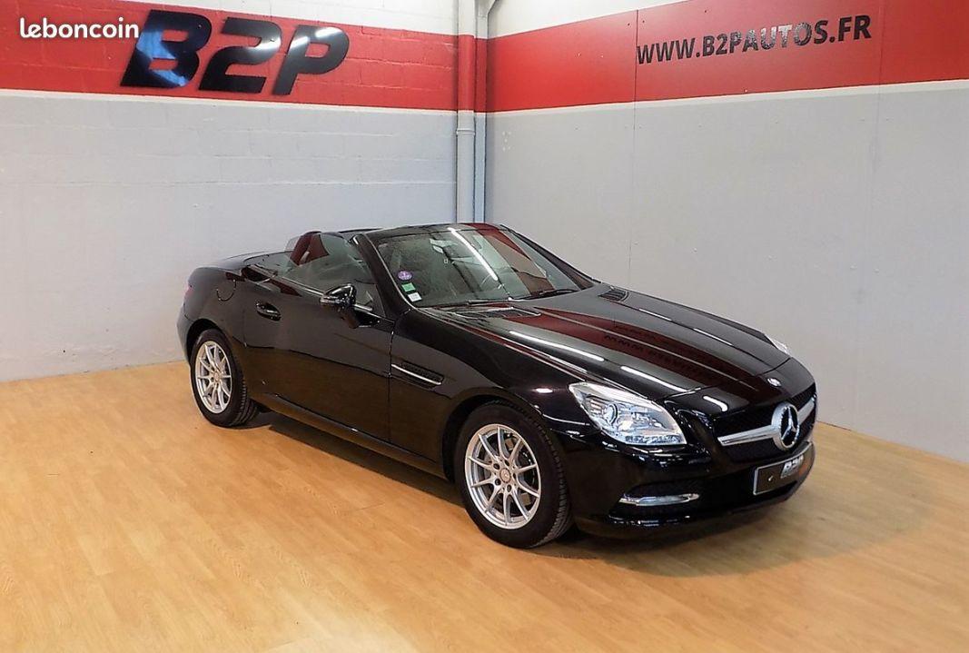 photo vehicule vendu - Mercedes slk 200 7g-tronic 184cv