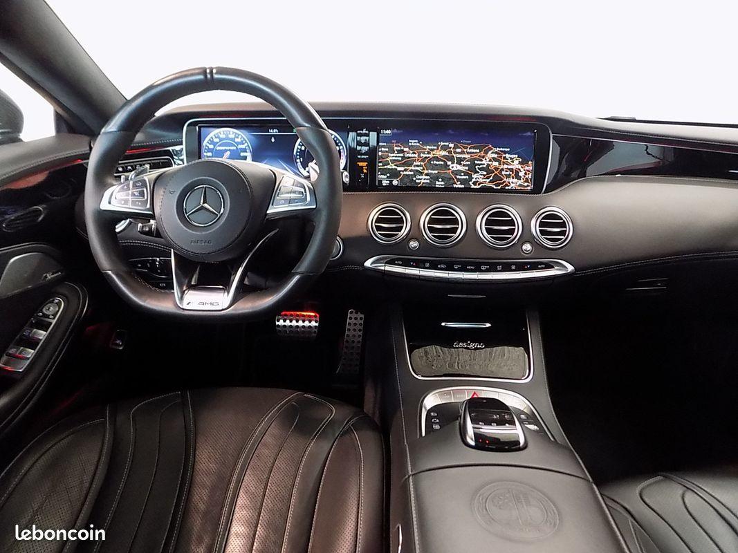 photo secondaire Mercedes classe s 63 amg 6.3 v8 bi turbo 585 cv mercedes