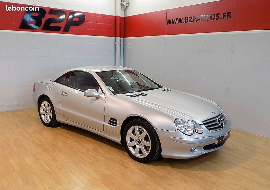 photo vehicule vendu - Mercedes sl 500 v8 cabriolet 306 cv