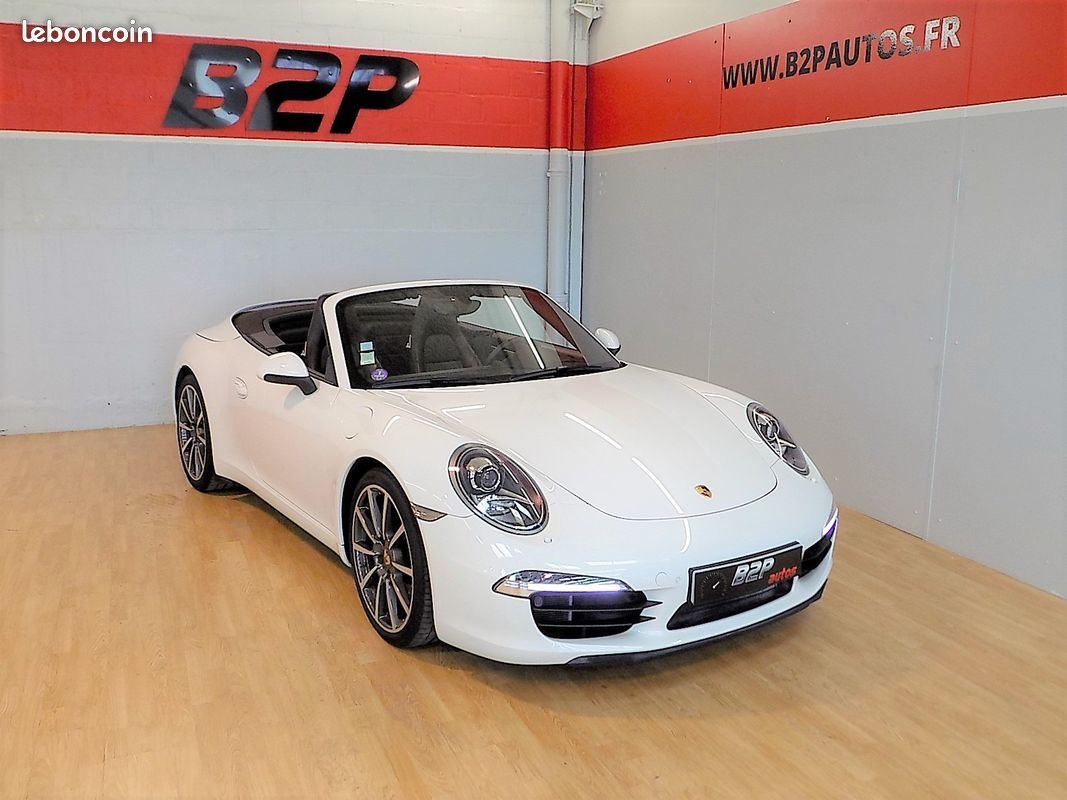 photo vehicule vendu - Porsche 911 / 991 cabriolet carrera s pdk 3.8 l 400 cv