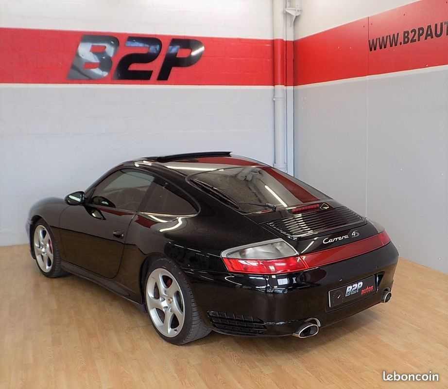 photo secondaire Porsche 911 996 4s 3.6 l 320 ch toit ouvrant porsche