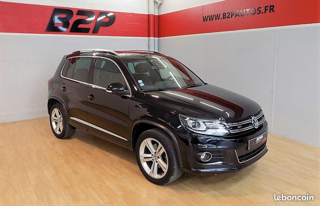 photo vehicule vendu - Volkswagen tiguan r-line 2.0 tdi bva 4motion