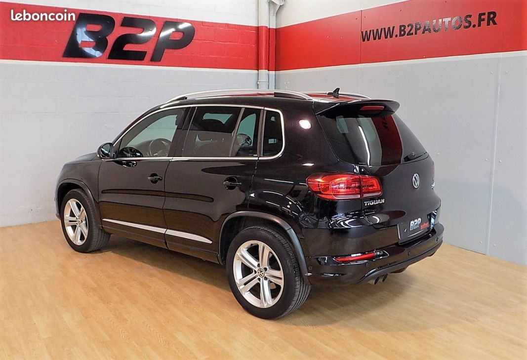photo secondaire Volkswagen tiguan r-line 2.0 tdi bva 4motion volkswagen