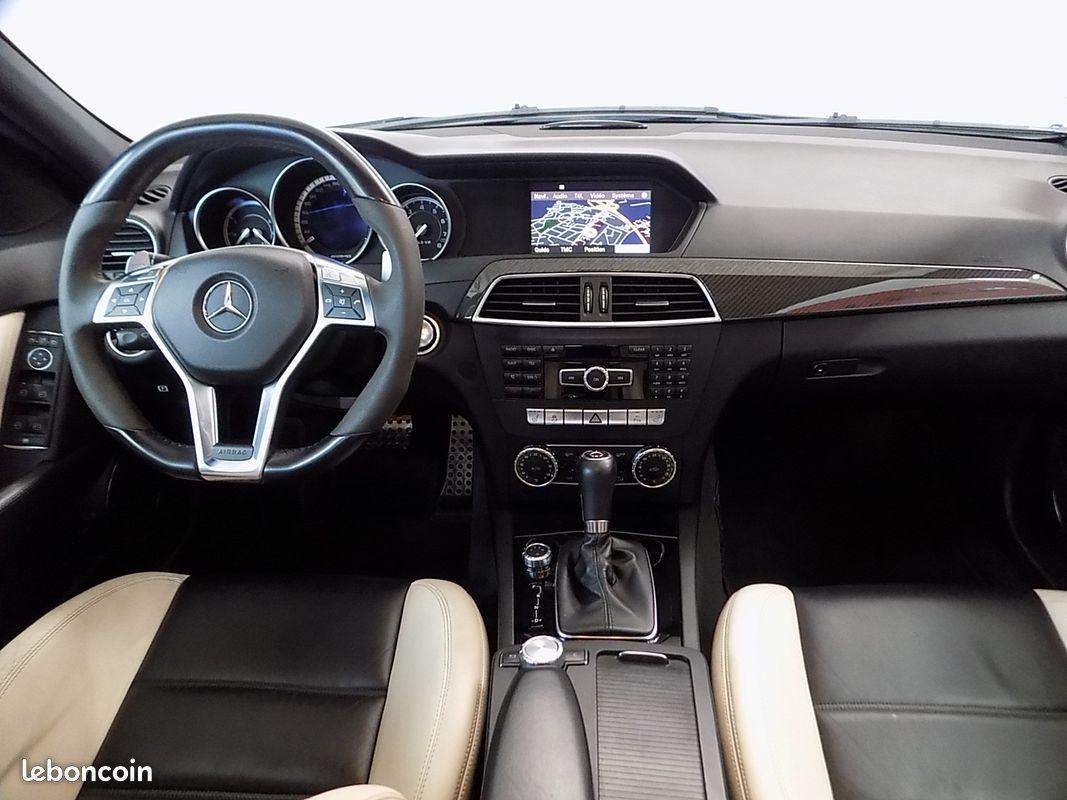photo secondaire Mercedes c 63 amg pack performance 487 cv c63 6.3 mercedes