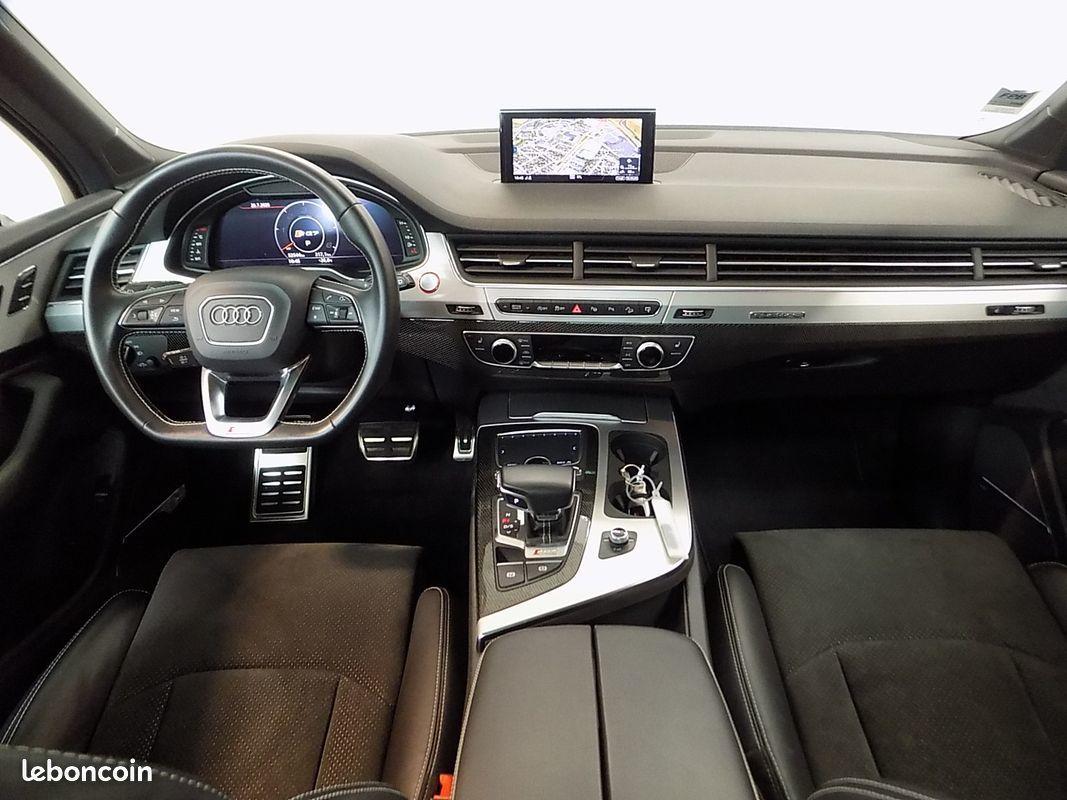 photo secondaire Audi sq7 v8 4.0 tdi 435 cv 7 places s-line 1ere main francais audi