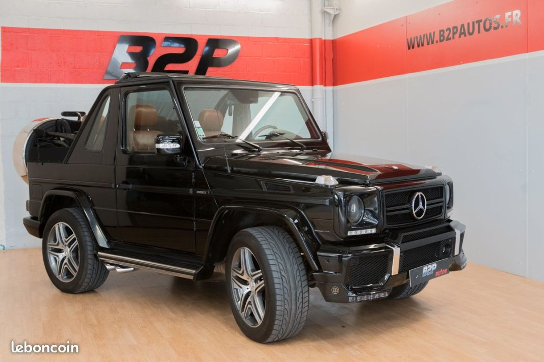 photo vehicule vendu - Mercedes classe g 320 cabriolet amg style 2006 86 000kms