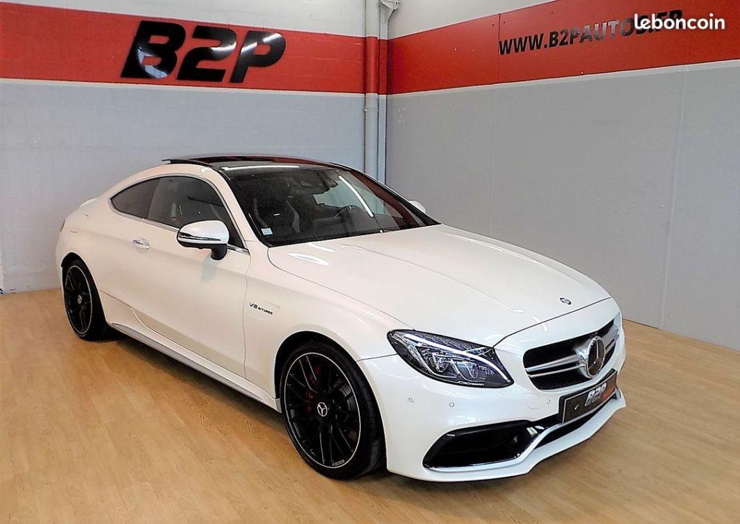 photo vehicule vendu - Mercedes classe c 63 s amg 510 cv c63s ecotaxe payée