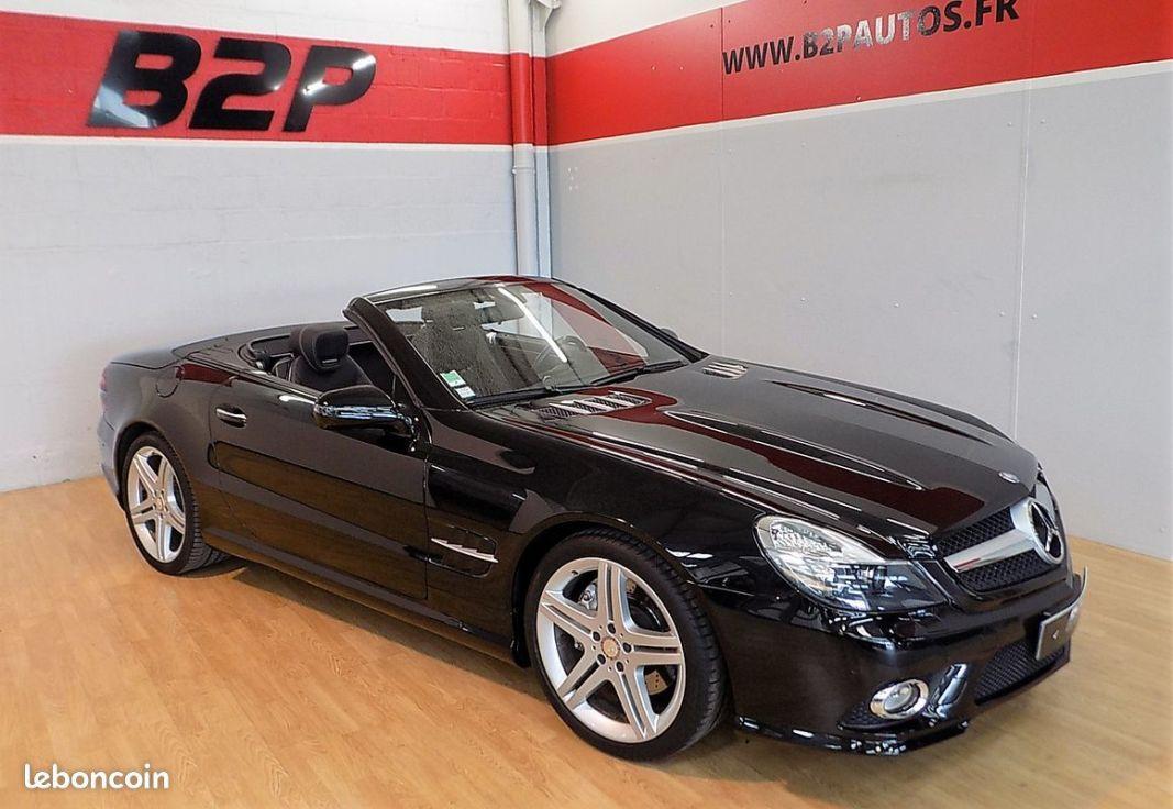 photo vehicule vendu - Mercedes sl 350 cabriolet 315 cv