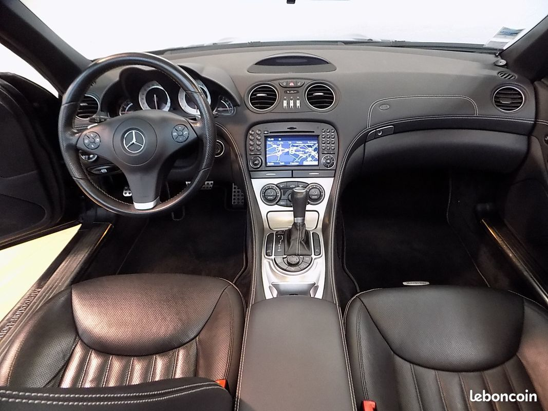 photo secondaire Mercedes sl 350 cabriolet 315 cv mercedes