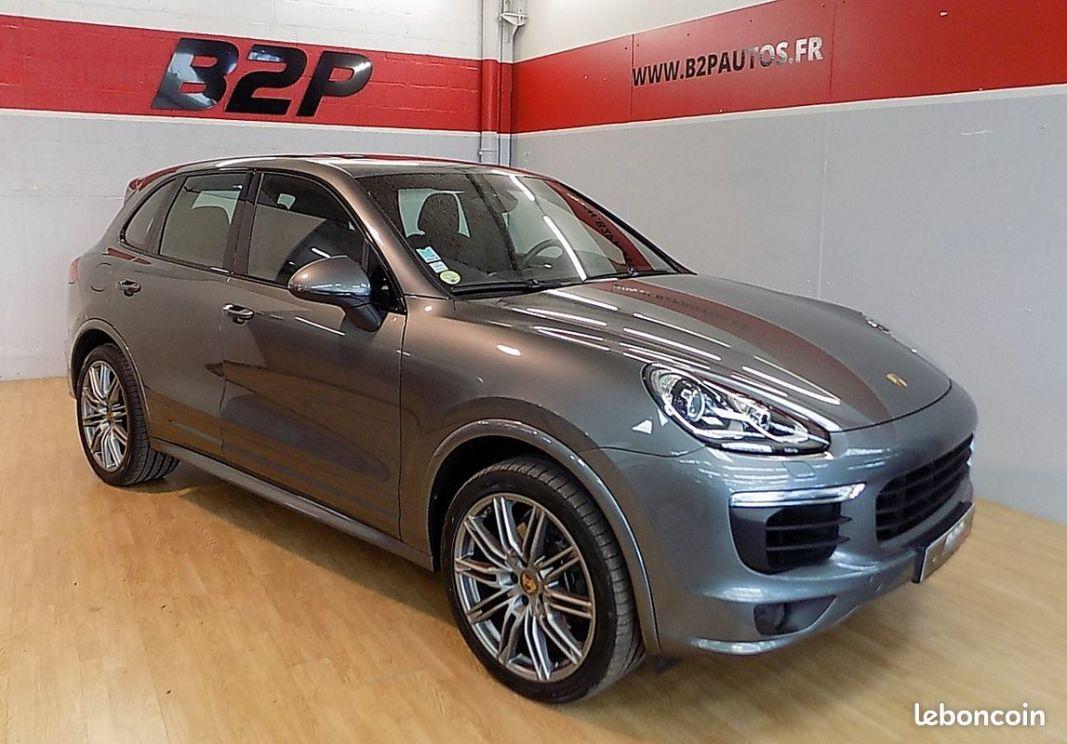 photo vehicule vendu - Porsche cayenne 3.0 d 262 cv platinium edition