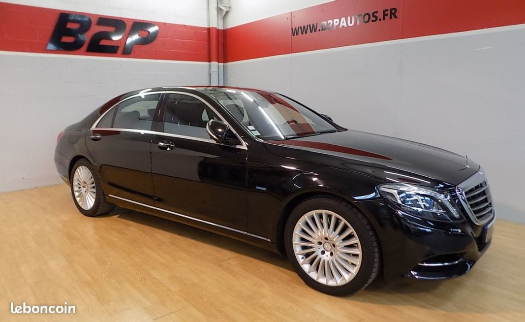 photo principale produit voiture Mercedes classe s 500 executive l hybrid plus