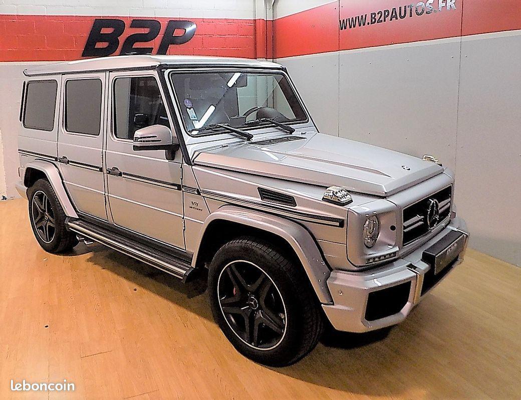 photo principale produit voiture Mercedes classe g 63 amg 544 cv designo