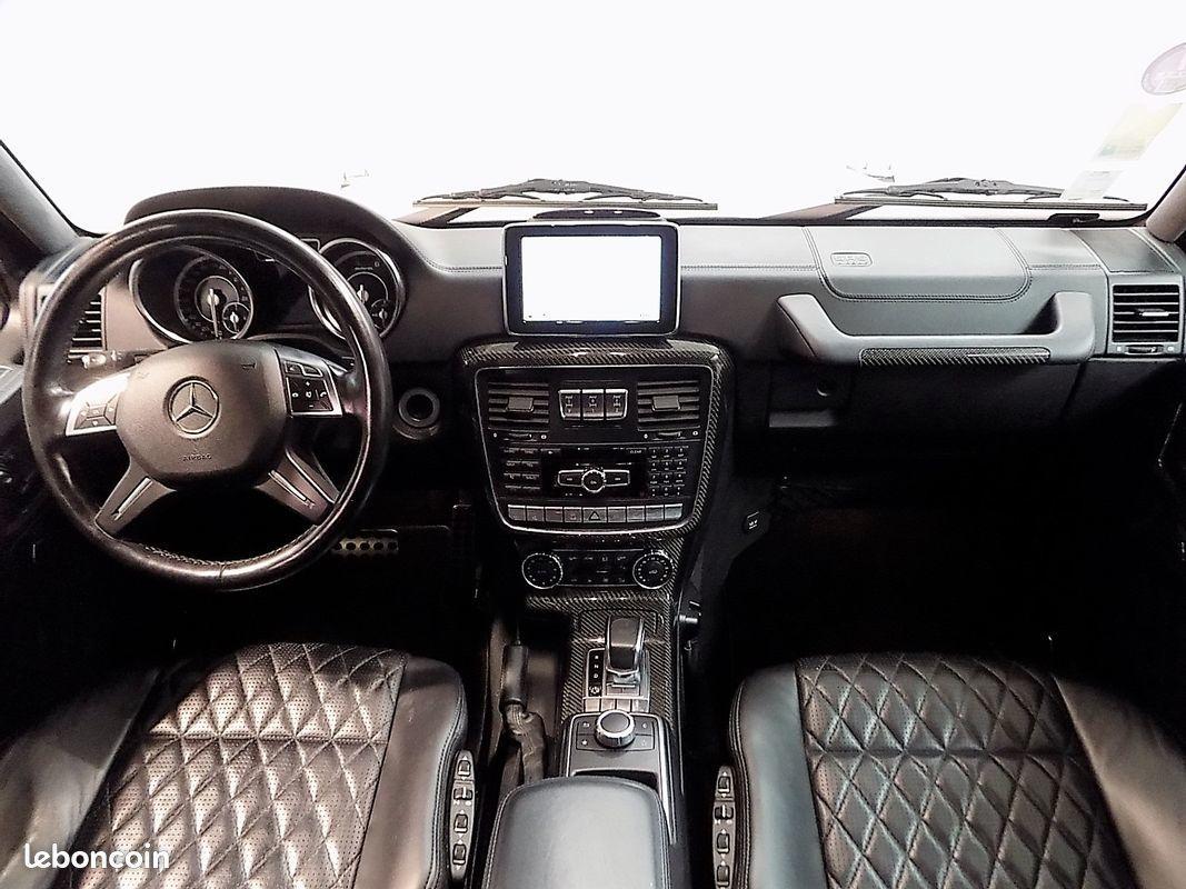 photo secondaire Mercedes classe g 63 amg 544 cv designo mercedes