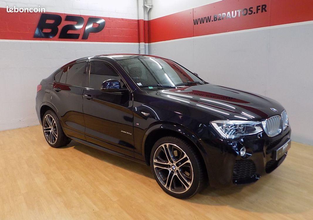 photo principale produit voiture Bmw x4 3.0 d 258 cv pack m carbon schwarz