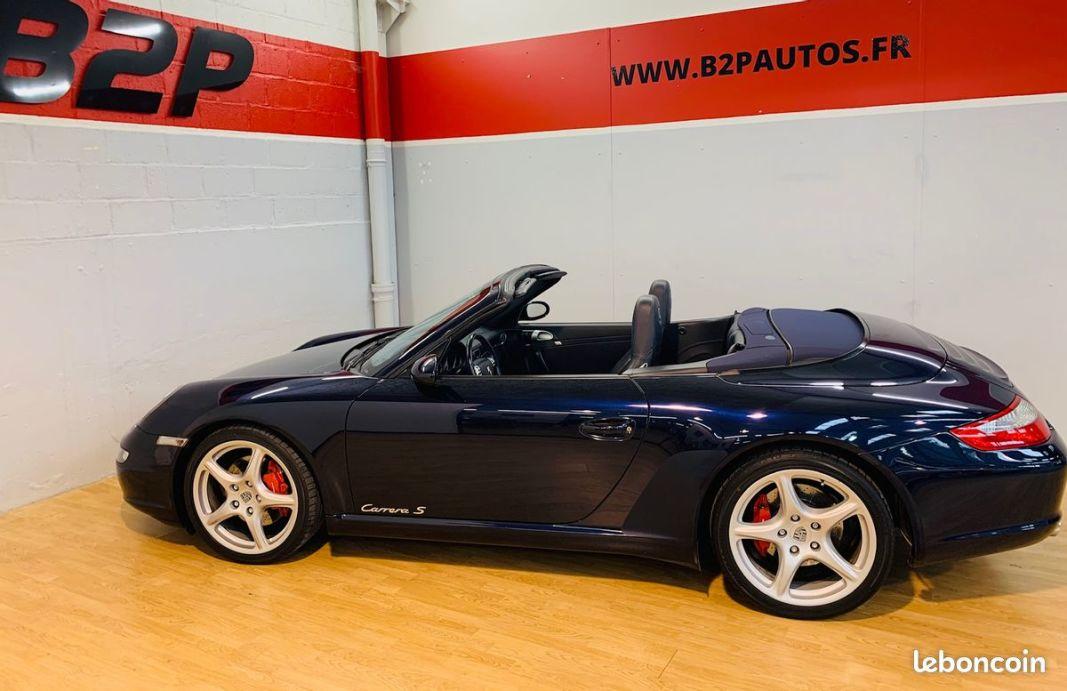 photo secondaire Porsche 911 997 3.8 l 355 cv cabriolet echappement sport porsche