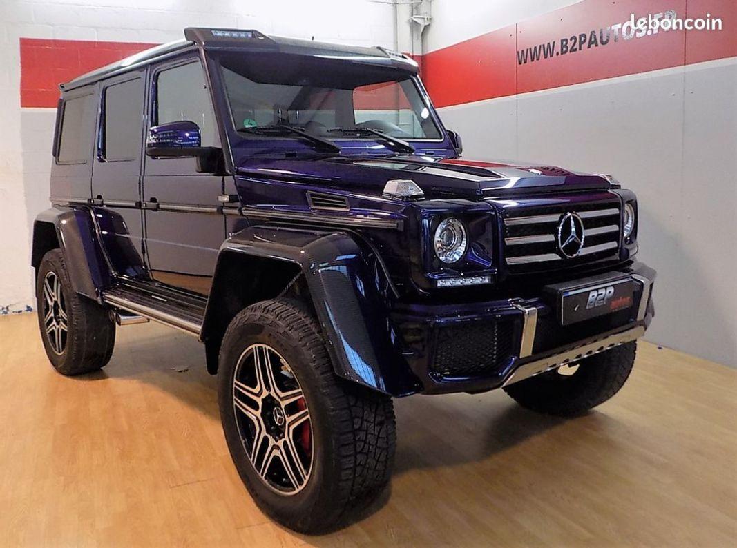 photo principale produit voiture Mercedes classe g 500 4x4² v8 421 cv