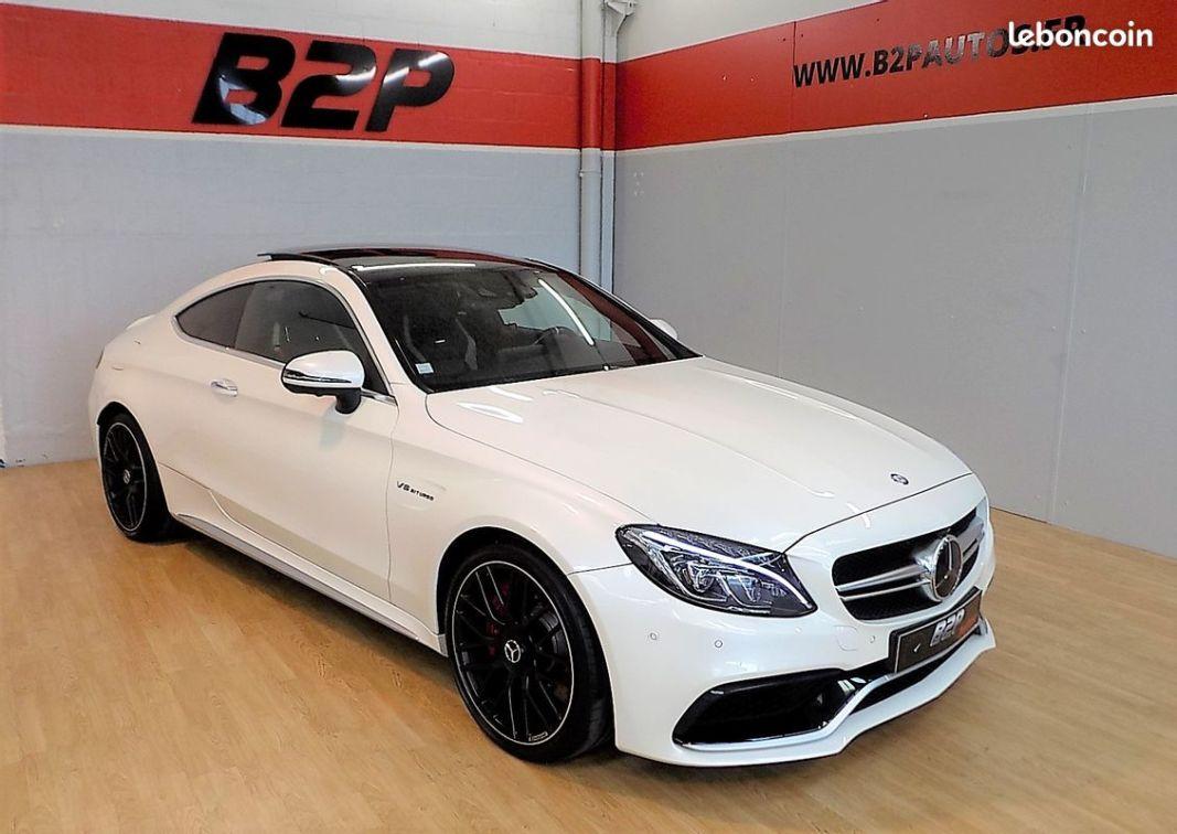 photo principale produit voiture Mercedes classe c 63 s amg 510 cv c63s ecotaxe payée
