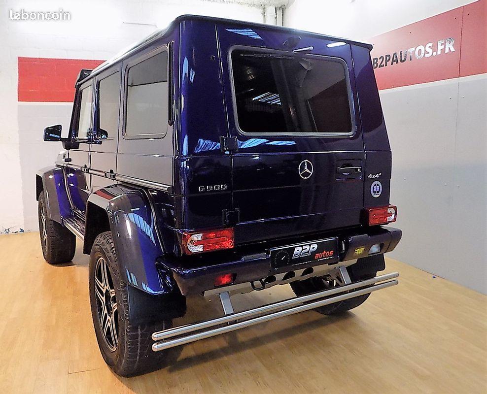 photo secondaire Mercedes classe g 500 4x4² v8 421 cv mercedes