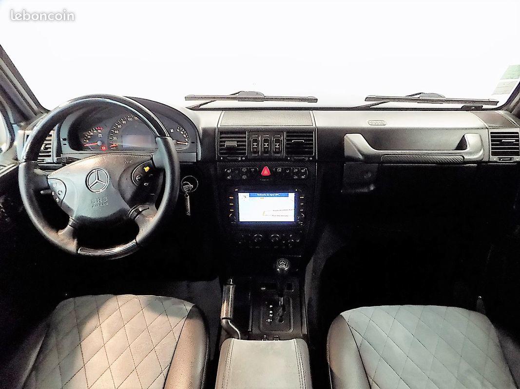 photo secondaire Mercedes classe g 400 cdi v8 bi-turbo brabus mercedes