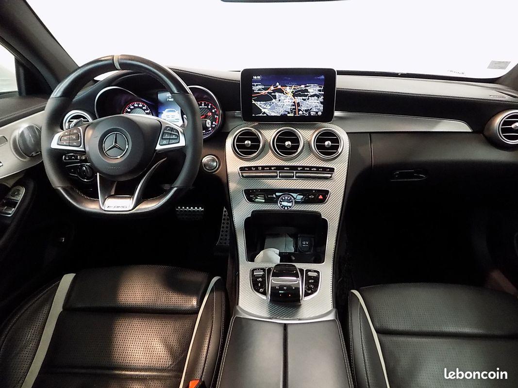 photo secondaire Mercedes classe c 63 s amg 510 cv c63s ecotaxe payée mercedes