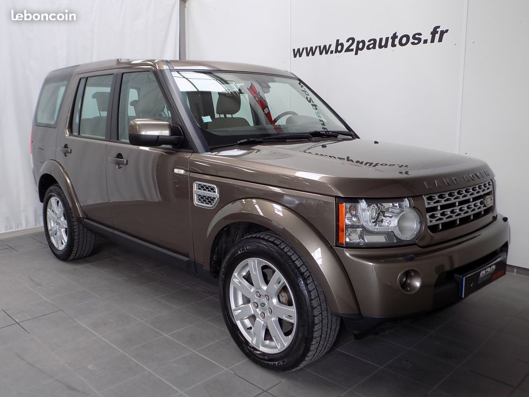 photo vehicule vendu - Land rover discovery 4 se 3.0 tdv6 245 cv