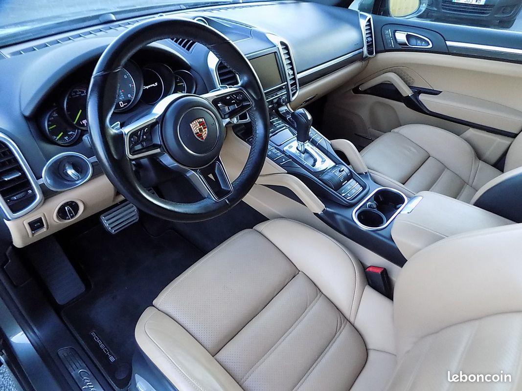 photo secondaire Porsche cayenne hydrid 416 cv platinium edition porsche