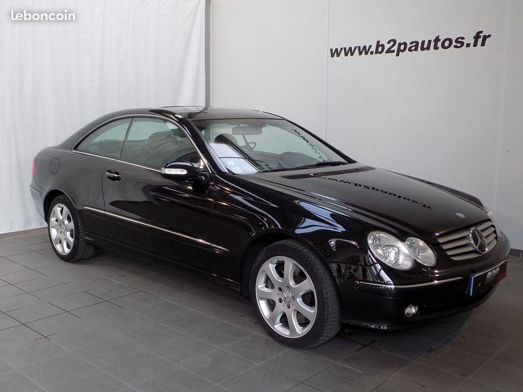 photo vehicule vendu - Mercedes clk 500 v8 306 cv