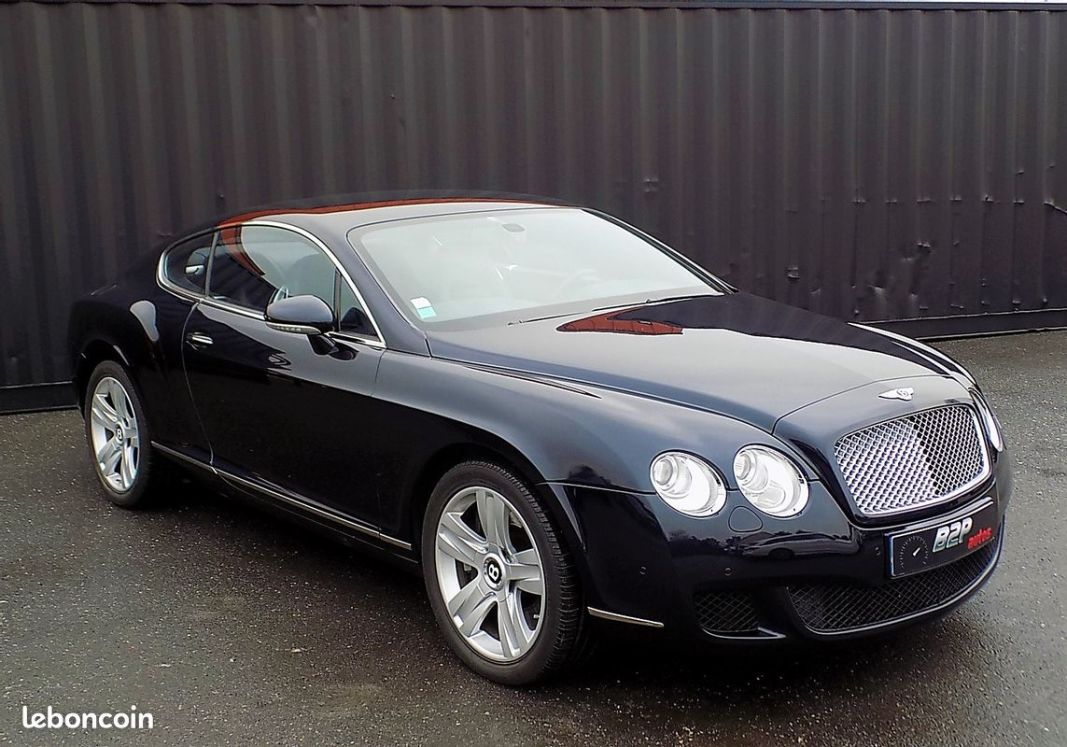 photo voiture bentley Bentley continental gt phase 2 6.0 w12 560 cv coupe
