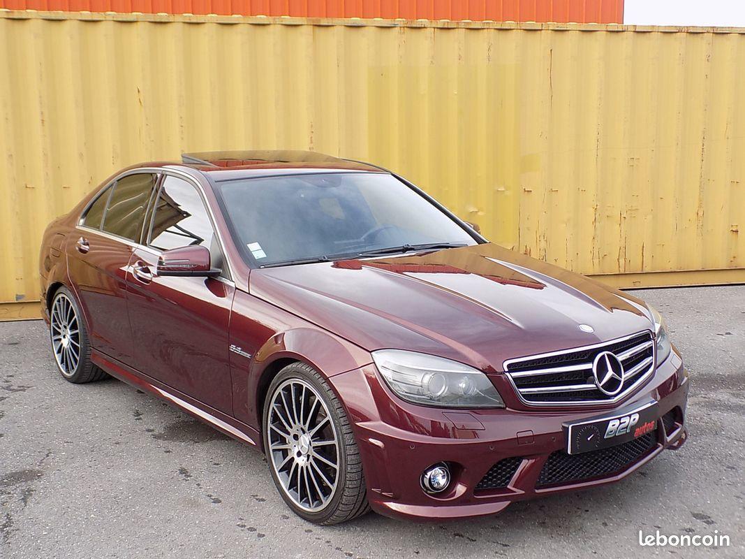 photo vehicule vendu - Mercedes c63 amg 6.3 v8 c 63 457 ch
