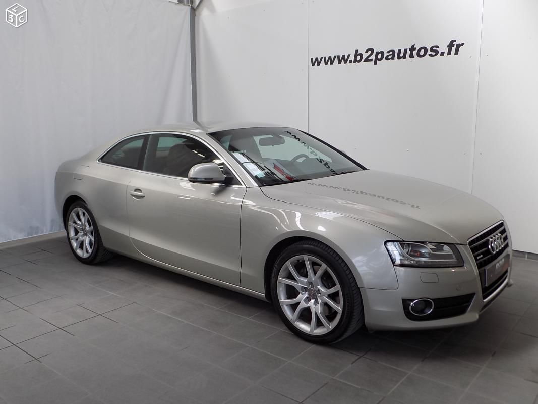 photo vehicule vendu - Audi a5 coupe 3.0 tdi 240 cv quattro ambition luxe
