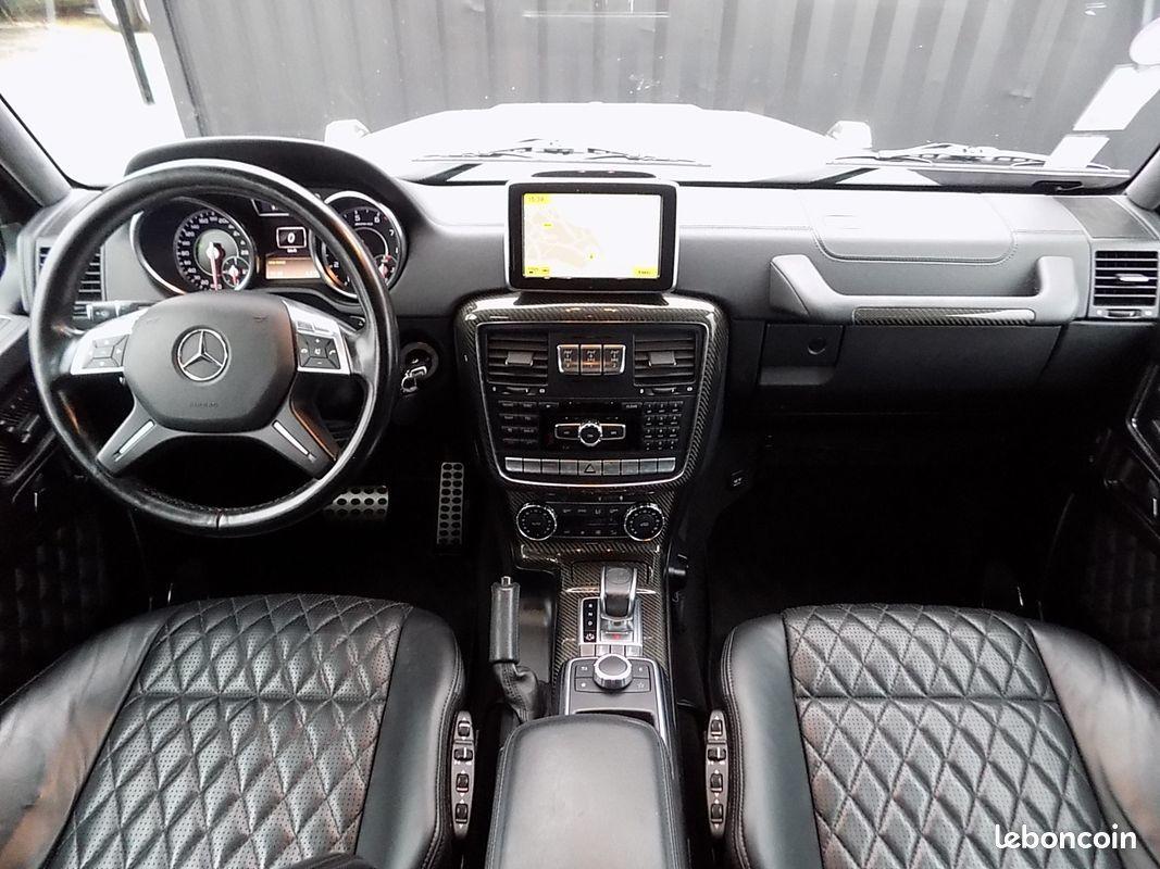 photo secondaire Mercedes classe g 63 amg 544 cv designo a